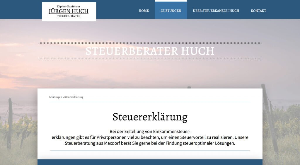 Steuerberater Content Marketing